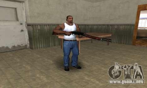 Very Big Shotgun para GTA San Andreas tercera pantalla