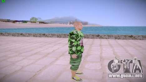 Huf Man para GTA San Andreas segunda pantalla