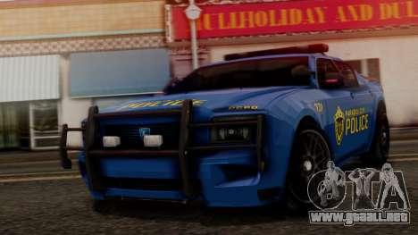 Hunter Citizen v2 IVF para GTA San Andreas