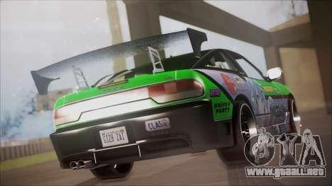 Nissan 240SX Sinon Itasha para GTA San Andreas left