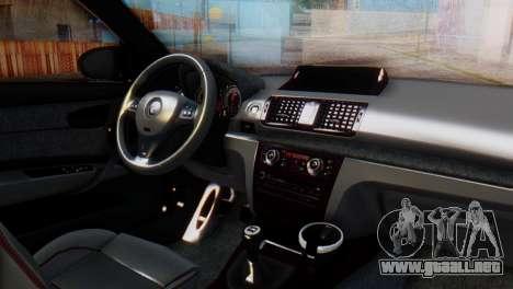 BMW M1 Tuned para la visión correcta GTA San Andreas