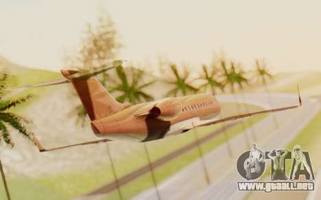 Buckingham Starjet v1.0 para GTA San Andreas left