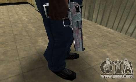 Flowers Deagle para GTA San Andreas