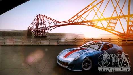 Solid ENBSeries by NF v2 para GTA San Andreas sucesivamente de pantalla