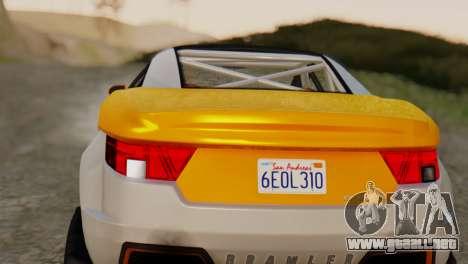 Coil Brawler Gotten Gains para la visión correcta GTA San Andreas
