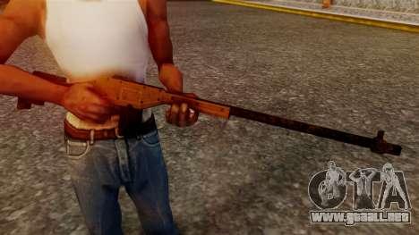 A Police Marksman Rifle para GTA San Andreas tercera pantalla