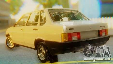 VAZ 21099 Stoke para GTA San Andreas left
