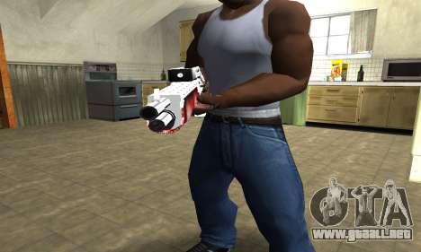 Blood Combat Shotgun para GTA San Andreas segunda pantalla