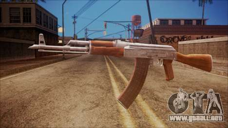 AK-47 v7 from Battlefield Hardline para GTA San Andreas