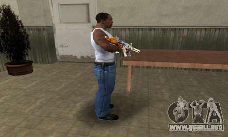 M4 Fish Power para GTA San Andreas tercera pantalla