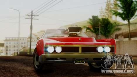 GTA 5 Albany Virgo para GTA San Andreas vista posterior izquierda