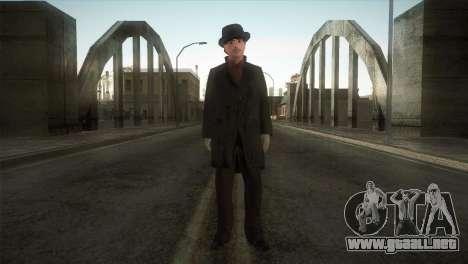 Sherlock Holmes v3 para GTA San Andreas segunda pantalla