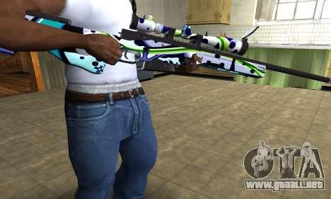 Marcken Sniper Rifle para GTA San Andreas