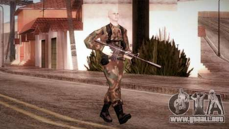 Shaved Soldier para GTA San Andreas