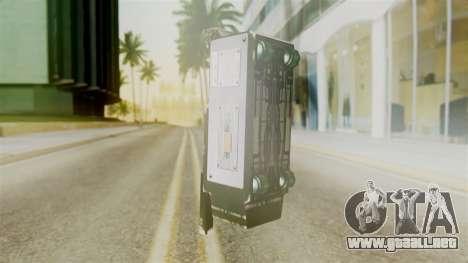 Ghostbuster SMTH para GTA San Andreas segunda pantalla