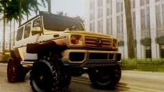 Mercedes-Benz G500 4x4 para GTA San Andreas