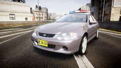 Ford Falcon XR8 Unmarked Police [ELS] para GTA 4