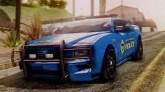 Hunter Citizen from Burnout Paradise SAPD para GTA San Andreas