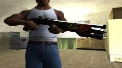 Flame Shotgun para GTA San Andreas