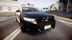 Ford Taurus 2010 Elizabeth Police [ELS] para GTA 4