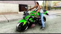 Kawasaki Z250SL Green