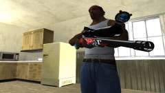 Red Shark Sniper Rifle para GTA San Andreas