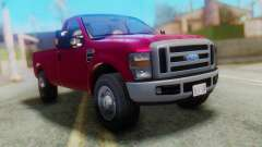 Ford F-350 Super Duty Regular Cab 2008 FIV АПП para GTA San Andreas