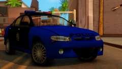 Police HSV VT GTS SA Style para GTA San Andreas