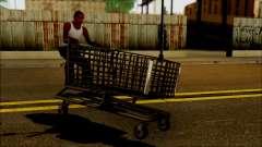 El carro en el supermercado para GTA San Andreas