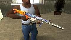 M4 Fish Power para GTA San Andreas