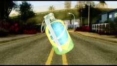 Brasileiro Grenade para GTA San Andreas