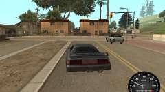 Velocímetro de GAS 52 para GTA San Andreas