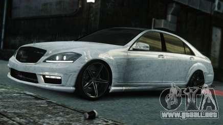 Mercedes-Benz S65 AMG Vossen para GTA 4