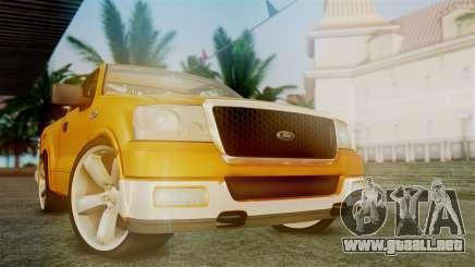 Ford F-150 Sport para GTA San Andreas