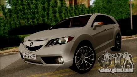 Acura RDX 2009 para GTA San Andreas