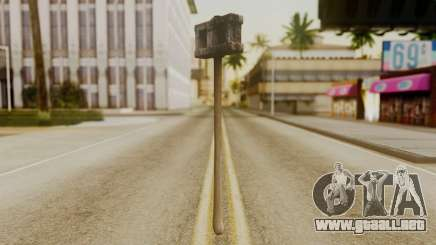 Bogeyman Hammer from Silent Hill Downpour v2 para GTA San Andreas