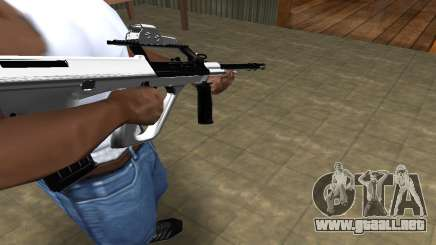 Chrome AUG para GTA San Andreas
