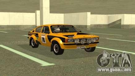 Opel Kadett Rally para GTA San Andreas