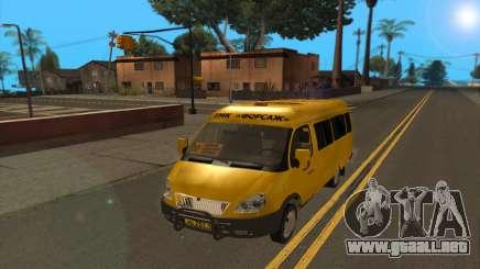 GAZ 2705 TMK rápido y furioso para GTA San Andreas