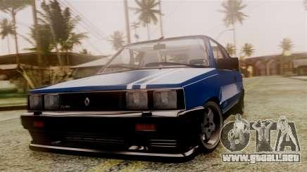 Renault 11 Turbo para GTA San Andreas