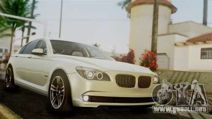 BMW 7 Series F02 2012 para GTA San Andreas
