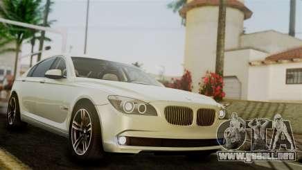 BMW 7 Series F02 2012 para GTA San Andreas