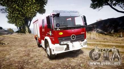 Mercedes-Benz Atego 1530 Firetruck [ELS] para GTA 4