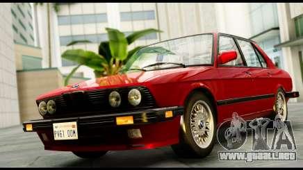 BMW M5 E28 1985 NA-spec para GTA San Andreas
