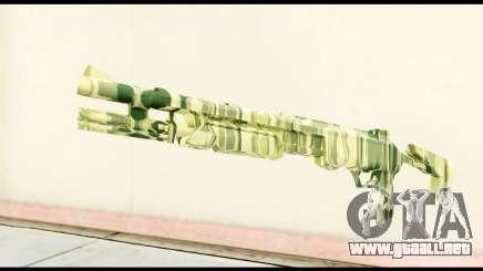 Shotgun from Crysis 2 para GTA San Andreas