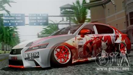 Lexus GS350 Stance Itsuka Kotori para GTA San Andreas