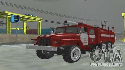 Ural 375 Bombero para GTA San Andreas