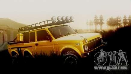 VAZ 2121 Niva 6x6 para GTA San Andreas