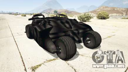 Batmobile v0.1 [alpha] para GTA 5