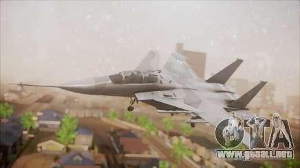 F-15S MTD Grabacr (8492nd) Ace Combat 5 para GTA San Andreas